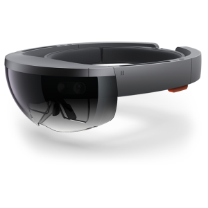 Microsoft Hololense virtual reality headset